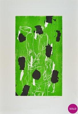 Georg Baselitz Torso III Holzschnitt Grafik