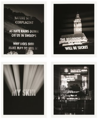Jenny Holzer Truth Before Power Pigment Prints