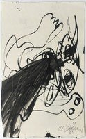 Walter Stöhrer Drawing Untitled X 1995