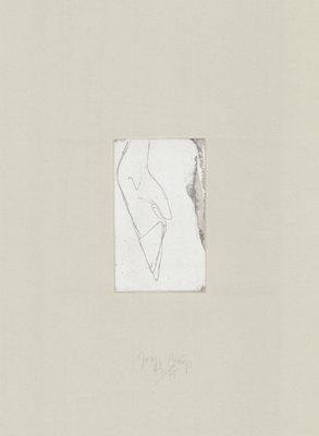 Joseph Beuys Tränen: Hirschfuß Radierung
