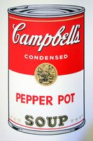 Andy Warhol Campbells Soup Pepper Pot Siebdruck Sunday B. Morning