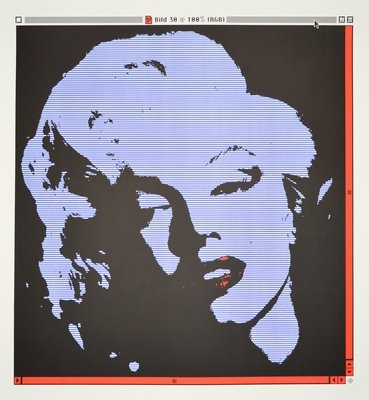 George Pusenkoff Marilyn Picture 30 Print Lithograph