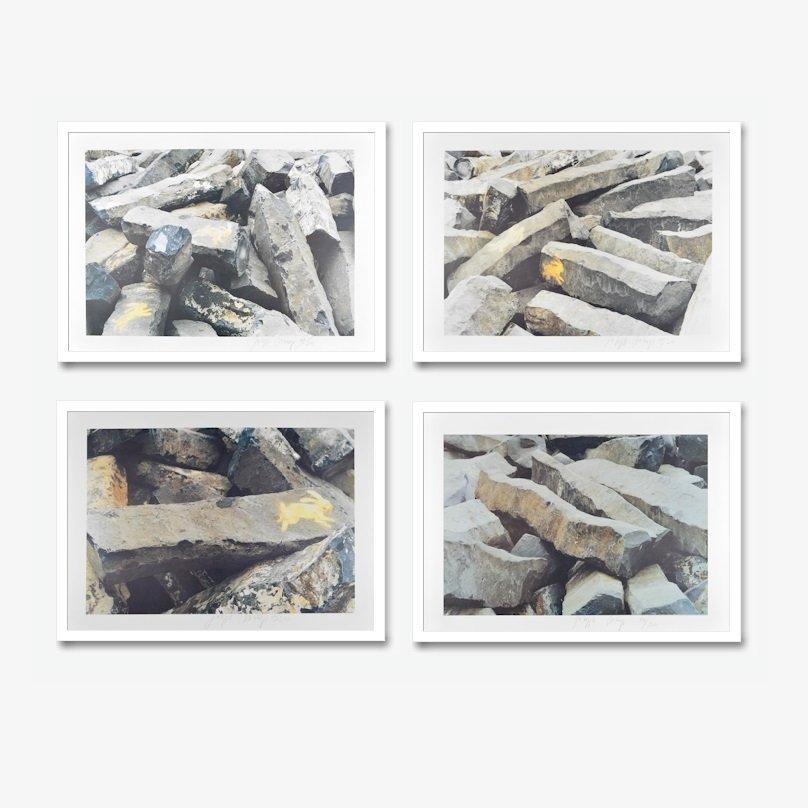 Joseph Beuys 7000 Eichen Prints 4 Offset Prints