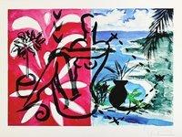 Stefan Szczesny Print Makkaroni Beach