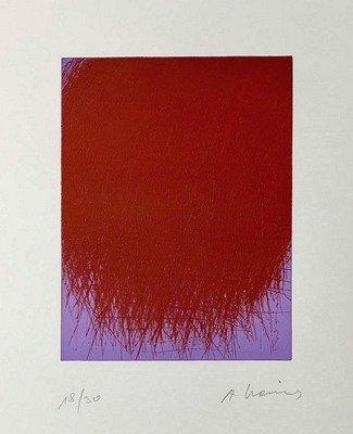 Arnulf Rainer Kosmischer Schauer Print Etching