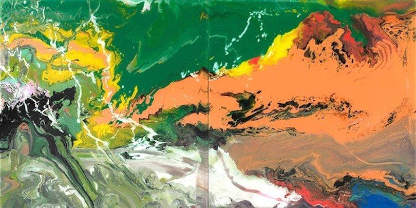 Gerhard Richter Flow P15 Facsimile Edition