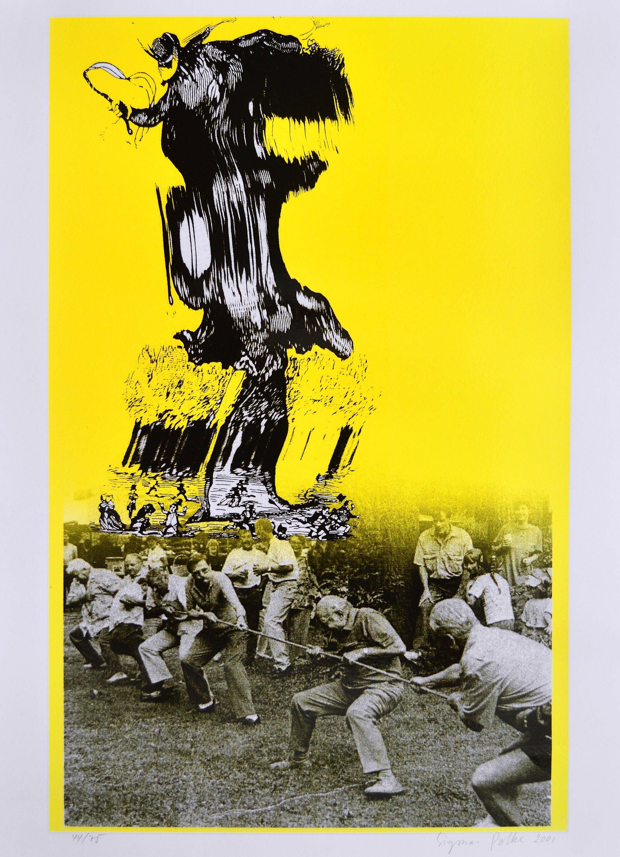Sigmar Polke Teufel von Berlin Serigraph For Sale I ARTEDIO
