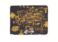 Antoni Tapies Bild Grafik Lettres