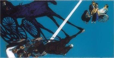 Norbert Tadeusz Lithographie Grafik Santa Lucia