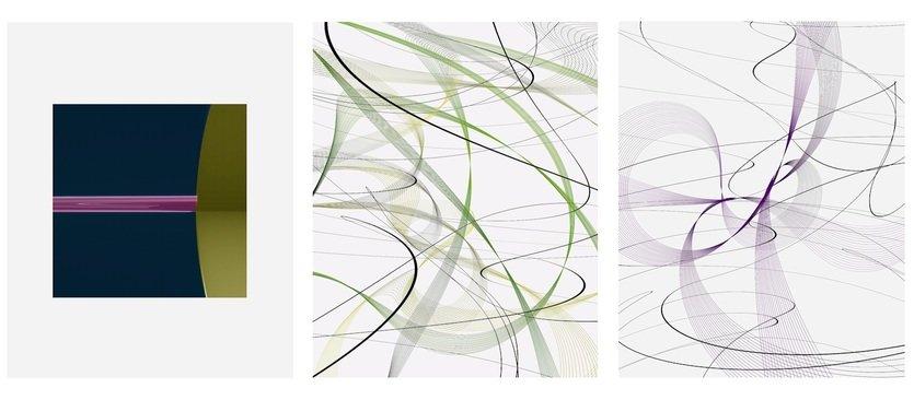 Thomas Ruff cassini / zycles Grafiken Pigmentdrucke