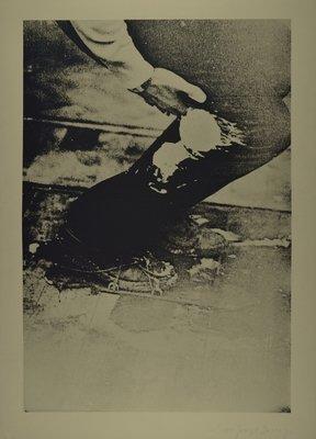 Joseph Beuys Aus Eurasienstab Print Serigraph