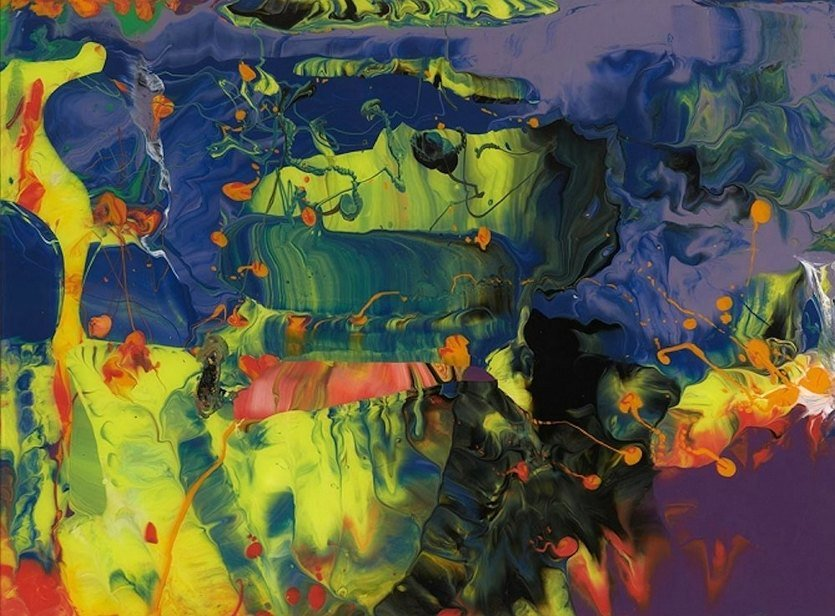 Gerhard Richter P11 Aladin Faksimile Edition