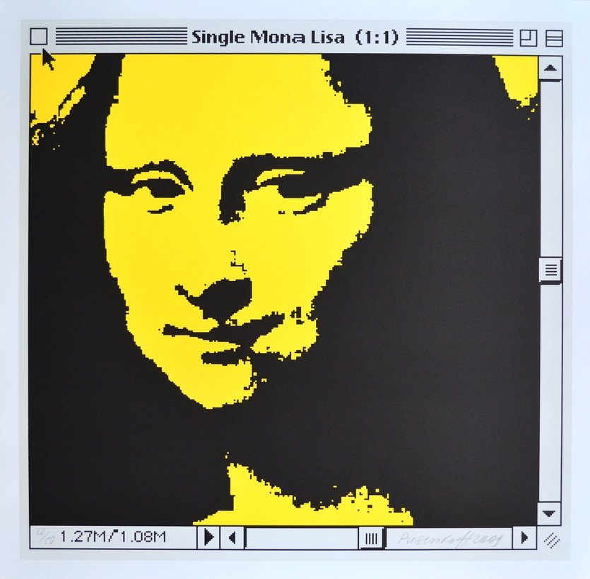 George Pusenkoff Single Mona Lisa Grafik Lithographie
