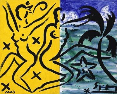 Stefan Szczesny Original Painting Mystique Mood