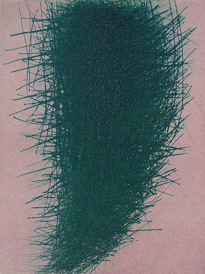 Arnulf Rainer Grünzeug Grafik Radierung