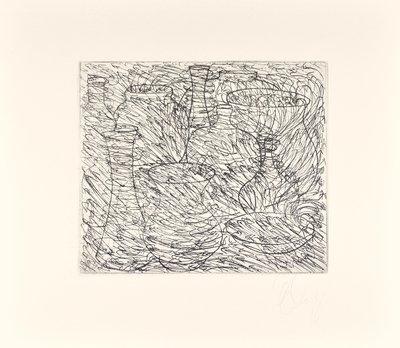 Tony Cragg Etching Print Wüste
