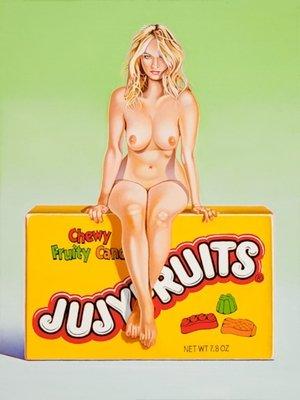 Mel Ramos Jujyfruits Judy Grafik Lithografie