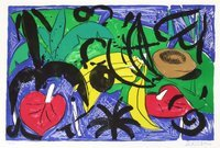 Stefan Szczesny Grafik Birthday Suite - Bananas