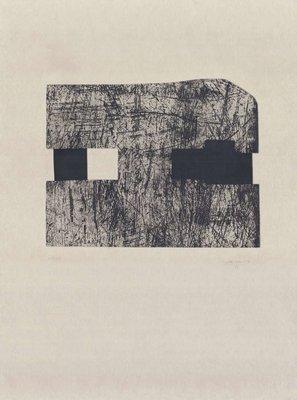 Eduardo Chillida Radierung Munich van der Koelen 94015