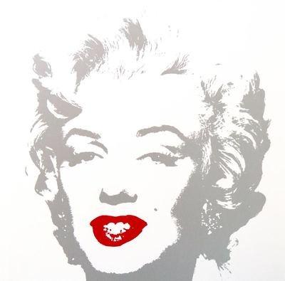 Andy Warhol Golden Marilyn I Serigraph Sunday B. Morning
