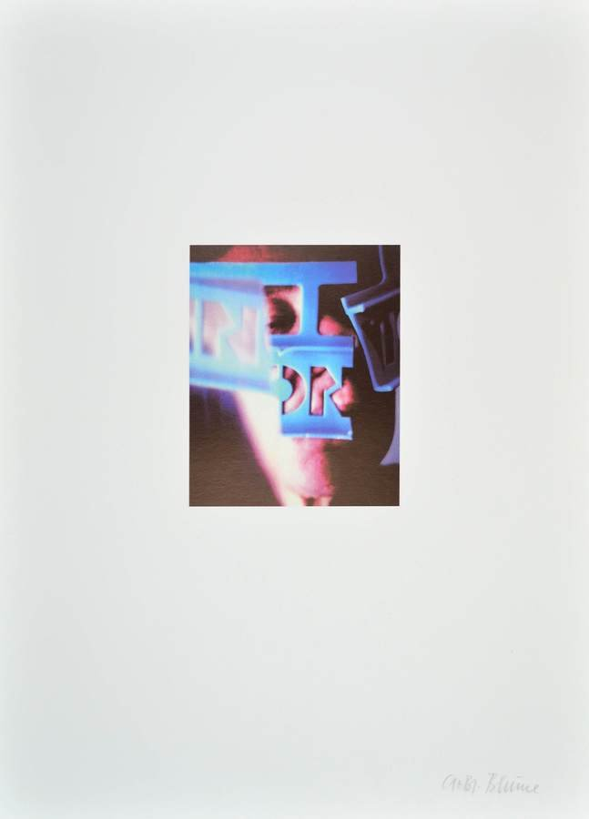 Anna und Bernhard Blume Offset Lithograph Print o.T.
