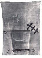 Antoni Tapies Print Variations III: Chaise et ciseaux