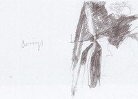 Joseph Beuys Grafik Granolithographie Leonardo Codice Madrid IV