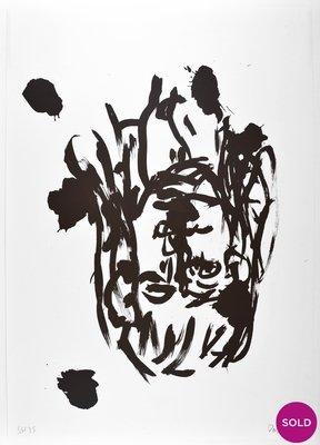 Georg Baselitz Lithograph Print Suite 45 o.T. VI