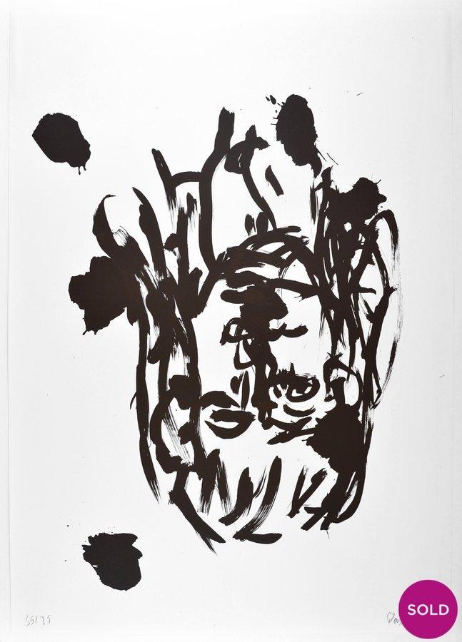 Georg Baselitz Lithographie Suite 45 Grafik o.T VI