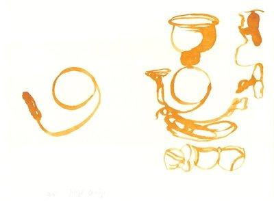 Joseph Beuys Aus dem Leben der Bienen Lithographie