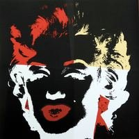 Andy Warhol Golden Marilyn V Serigraph Sunday B. Morning