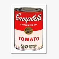 Andy warhol campbells soup tomato sunday b morning 3131 small