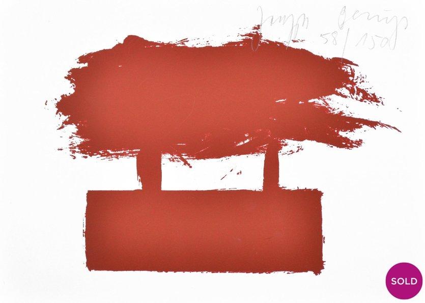 Joseph Beuys Grafik Zeichen aus dem Braunraum o.T. I