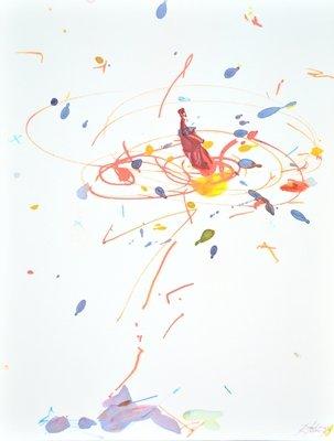 Rebecca Horn Grafik Edition Die Reise des Sufis