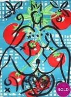 Stefan Szczesny Lithograph Tomato Queen