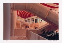 Christo and Jeanne-Claude Museum Würth Wrapped Stairs Photograph