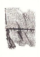 Antoni Tapies Original Grafik La Nuit grandissante