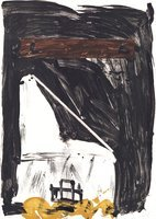 Antoni Tapies Print Variations VIII: Grand Chaise