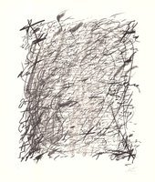 Antoni Tapies Lithographie Mes amis