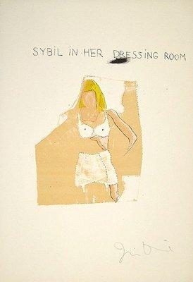 Jim Dine Dorian Gray, Sybil Print Lithograph