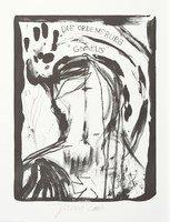Jonathan Meese Der Ordensgott Lithograph Print