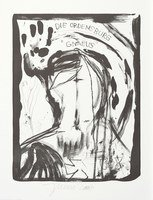 Jonathan Meese Der Ordensgott Grafik Lithografie