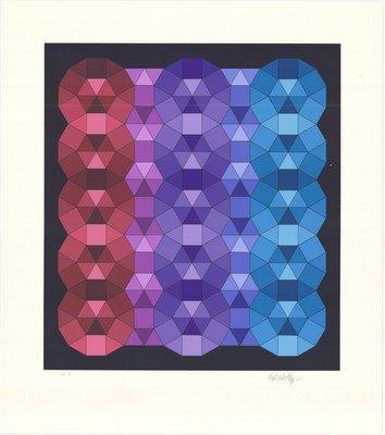 Victor Vasarley Original Grafik YKA II