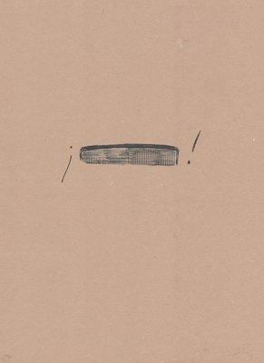 Antoni Tapies Print Llambrec Material IV