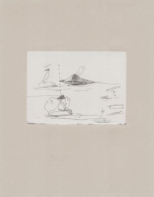 Joseph Beuys Grafik Tränen: Intelligenz der Schwäne