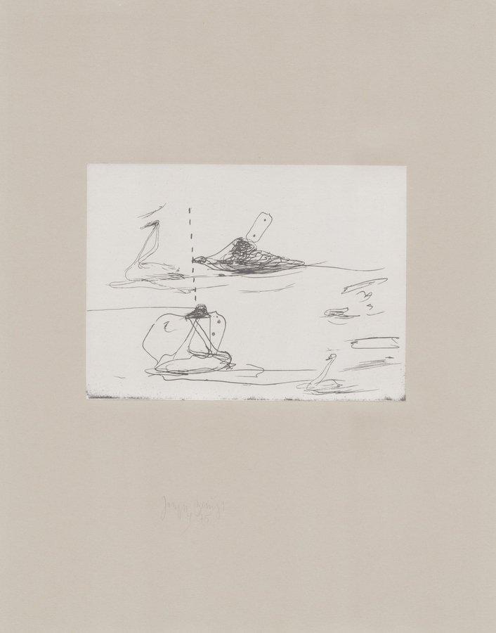 Joseph Beuys Print Tränen: Intelligenz Der Schwäne