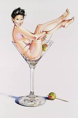 Mel Ramos Martini Miss #2 Lithografie Grafik
