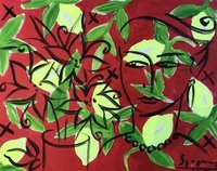 Stefan Szczesny Original Painting Eve And Lemons