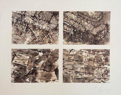 Tony Cragg ohne Titel 2002 Grafik Lithographie