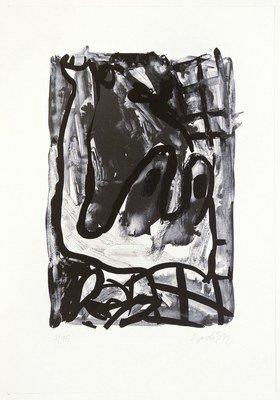 Georg Baselitz Rebe Print Lithograph
